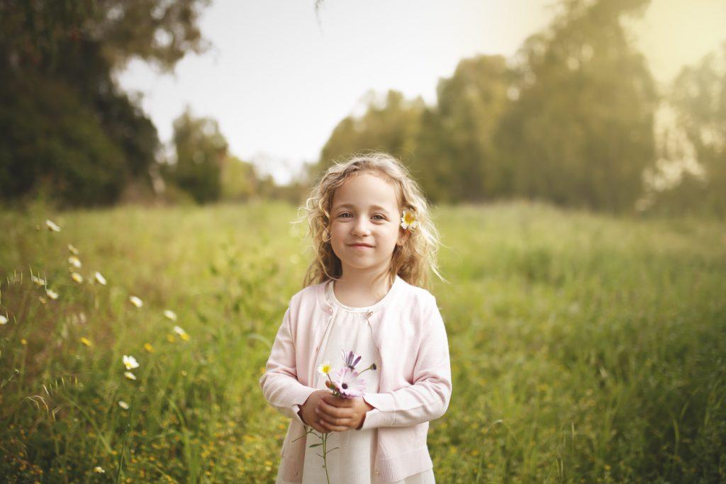 Fotografía infantil en exterior, estudio fotografico en Marbella