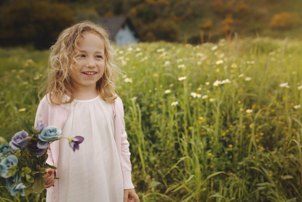 Fotografía infantil en exterior en Torremolinos
