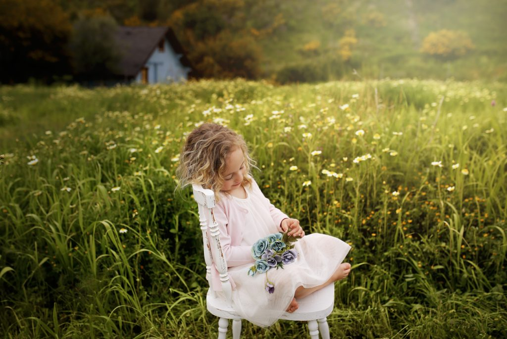 Fotografía infantil en exterior en Estepona